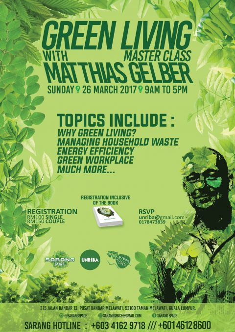 Green Living with Matthias Gelber Master Class