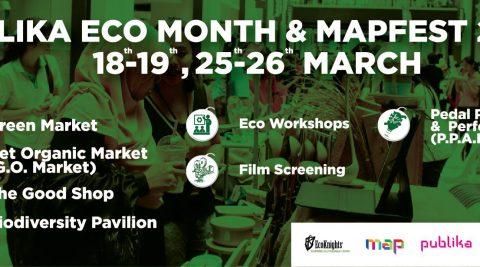 EcoKnights x Publika EcoMonth & Mapfest 2017