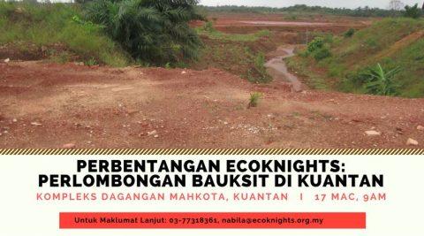 Perbentangan EcoKnights: Perlombongan Bauksit di Pahang