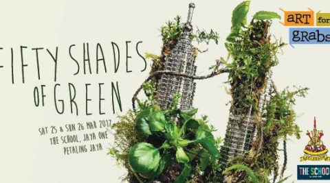 Art For Grabs: Fifty Shades of Green