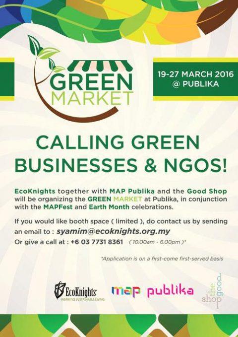Green Market Kangkong Party