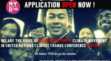 Climate change is happening when you are reading this post. JOIN US NOW