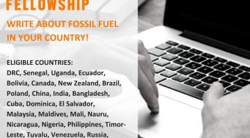 Become a fossil fuel online fellow