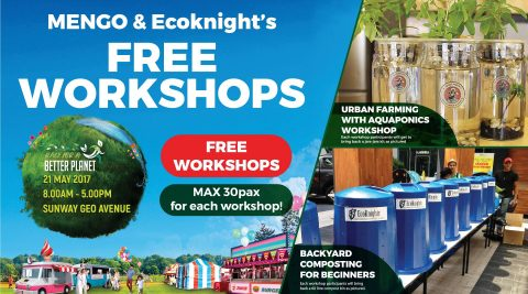 Free Workshops by MENGO & Ecoknights