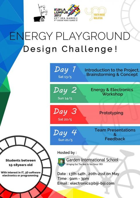 Design Challenge – SEA Games Energy Playground