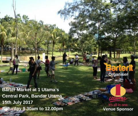 Barter Market at 1 Utama's Central Park, Bandar Utama