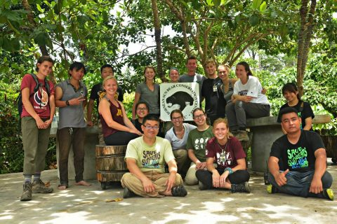 Field Class Tropical Conservation and Climate Change with Minnesota University Students