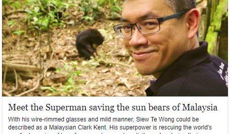 CNN Heroes – Meet the Superman saving the sun bears of Malaysia