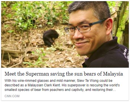 CNN Heroes – Meet the Superman saving the sun bears of Malaysia
