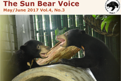 The Sun Bear Voice Newsletter – May/June 2017 Vol.4, No.3