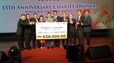 11.11.2017 Pertubuhan Amal Seri Sinar 14th Anniversary Charity Dinner
