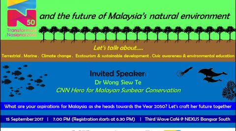Have YOUR Say: TN50 and the Future of Malaysia's Natural Environment