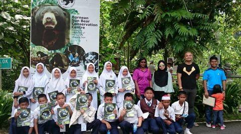 School Visit – SK Sungai Tiram, Sandakan
