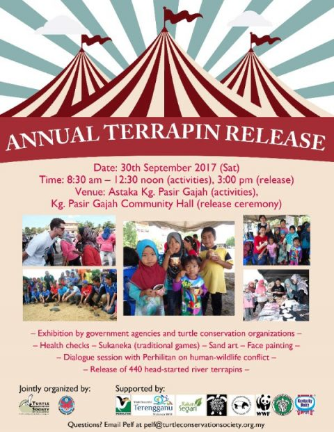 Annual Terrapin Release happening 30th Sept!