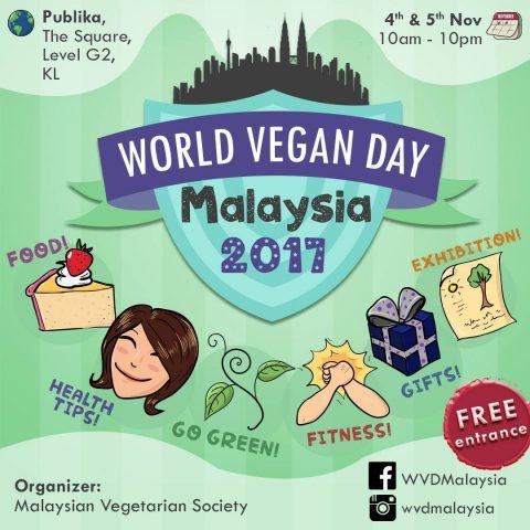 World Vegan Day Malaysia 2017