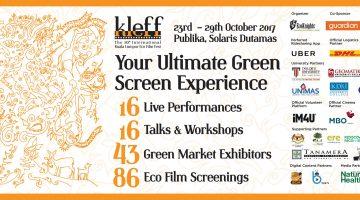 10th International Kuala Lumpur Eco Film Fest 2017 (KLEFF2017)