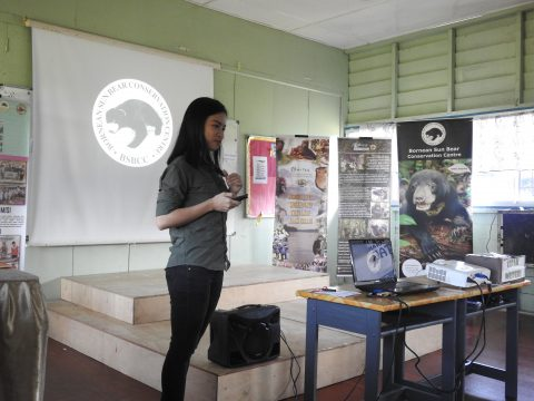 Talk on sun bear & BSBCC by Bellinda