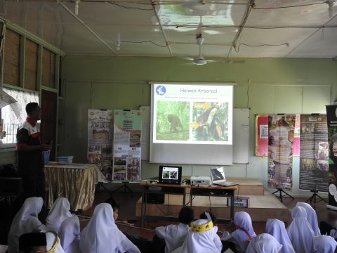 Talk on Orang Utan by Mr. Haslan from Hutan-KOCP