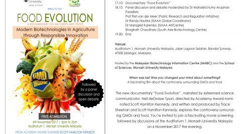 Food Evolution Documentary Movie