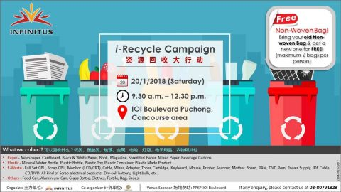 Infinitus i-Recycle Campaign (Go Green)