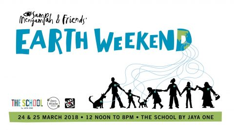 Sampah, Menyampah and Friends Earth Weekend
