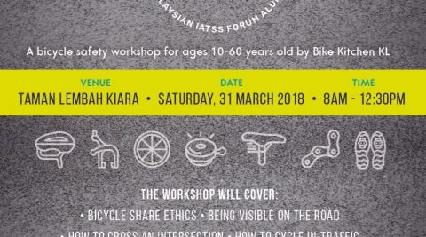 Cycle Safe workshop @ Taman Lembah Kiara, TTDI