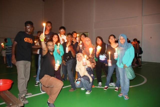 Curtin Sarawak Earth Hour
