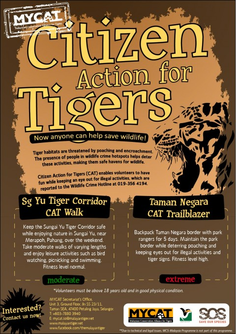 Citizen Action for Tigers (CAT)
