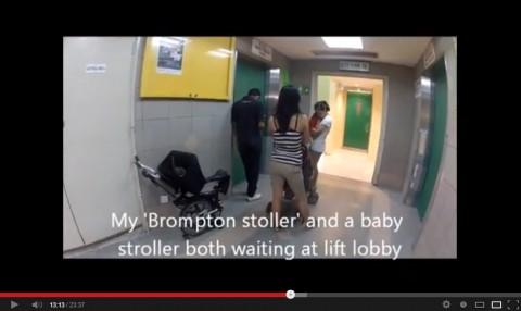 Brompton stroller