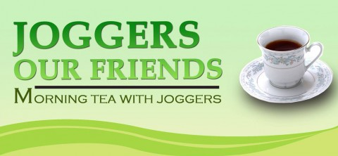 Joggers Our Friends: Morning Tea with Joggers