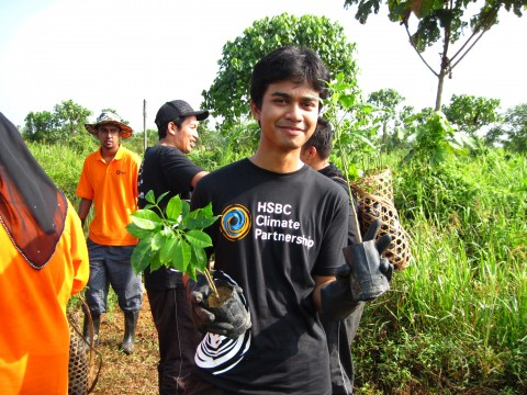 October 2013 Raja Musa Forest Reserve Monthly Tree Planting