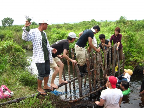July 2013 Raja Musa Forest Reserve Monthly Tree Planting