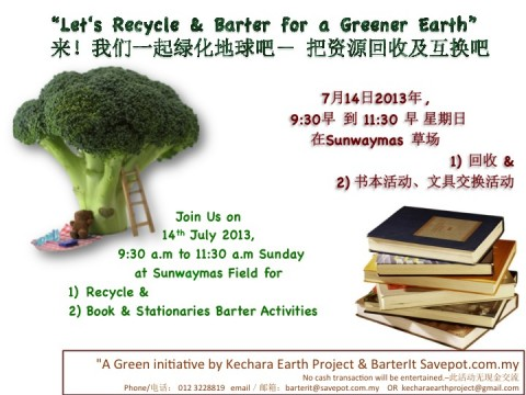 BarterIt! Recycle and Barter Books