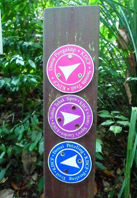 KDCF trail signage