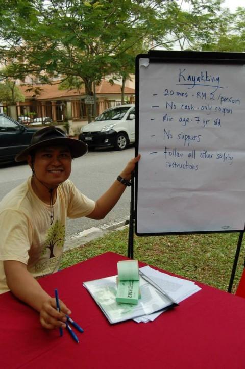 KDCF volunteer Ilyas