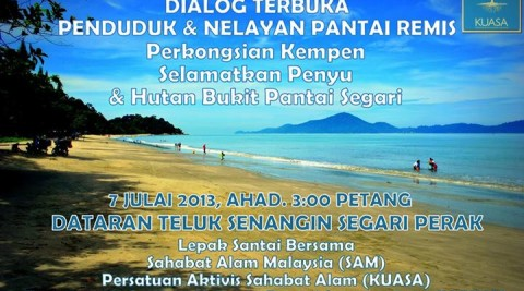 Dialog Terbuka Penduduk & Nelayan Pantai Remis.