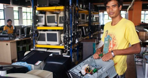 Tech Cycle: refurbishment of old digital items for people who most need it