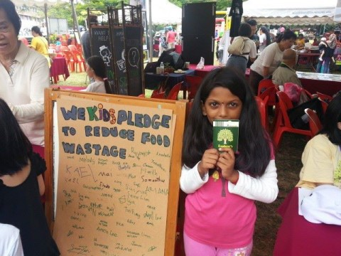 Think Eat Save at World Environment Day 2013