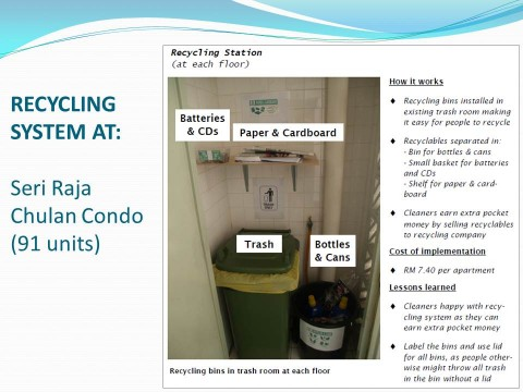 Recycling System in Malaysia: Easy, Effective & Cheap. Please replicate yourself