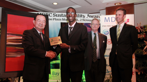 Best corporate sustainability related to Waste Management (MSA'12)
