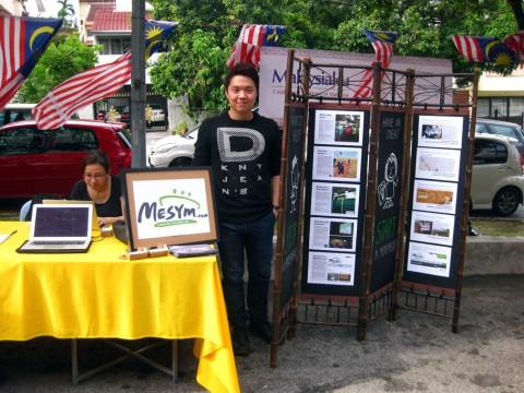 Volunteer Chris in Malaysia Day