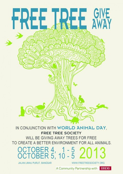 Free Tree Give Away
