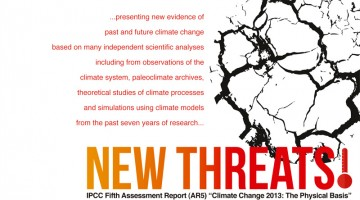 ASM Fellows' Lecture: Climate Change: Old News, New Threats! IPCC Fifth Assessment Report-The Physical Basis