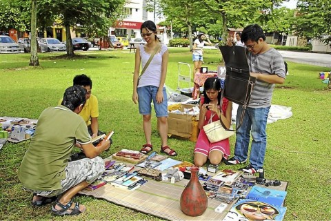 BARTER MARKET + RECYCLE ACTIVITIES