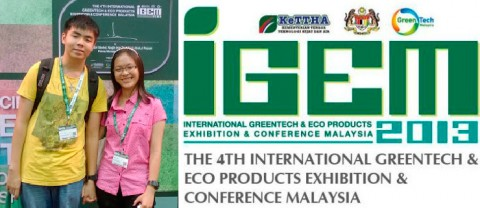 International Greentech and Eco Products Exhibition and Conference Malaysia (IGEM 2013)