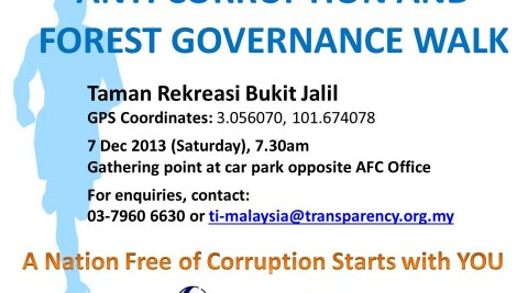 Anti-Corruption And Forest Governance Walk
