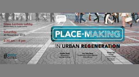Place-Making in Urban Regeneration