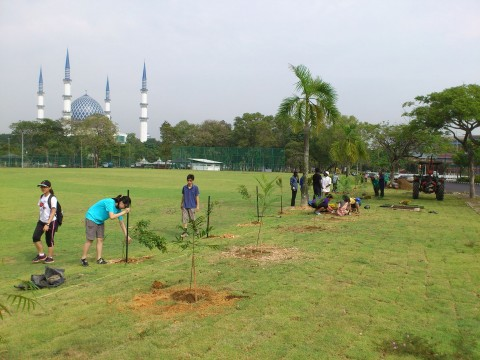 Shah Alam Trees For Life December 2013