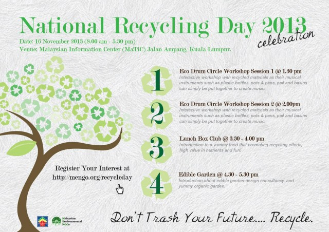 National Recycling Day 2013