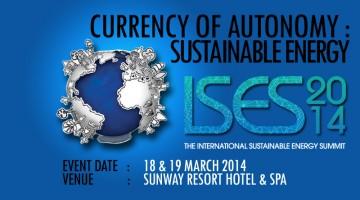 The International Sustainable Energy Summit: Currency of Autonomy: Sustainable Energy